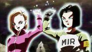 17 y 18 dan su energía para la Genki-dama