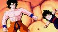 GokuAndGohanBothGravelyInjured