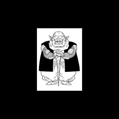 L'anziano Moori in <i>Dragon Ball Super</i>.