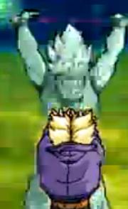 Ozotto Goku spirit bomb