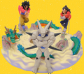 SuperShenron diorama