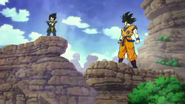 Goku contra Vegeta Broly
