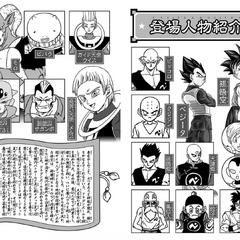 Presentazione dei personaggi