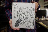 Foto de Moro ilustrado por Toyotaro