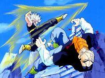 Trunks Final kick