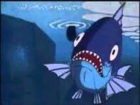 Didelę žuvį pagauna Goko uodega