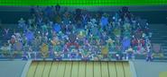 Galactic Arena spectators