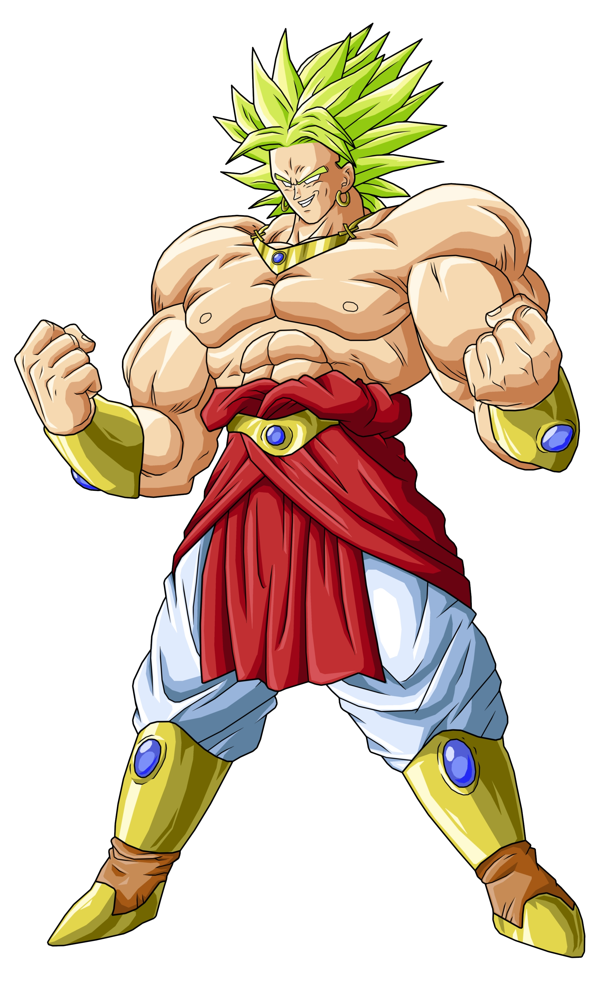 Imagen dbz broly dragon ball wiki fandom - Broly dragon ball gt ...