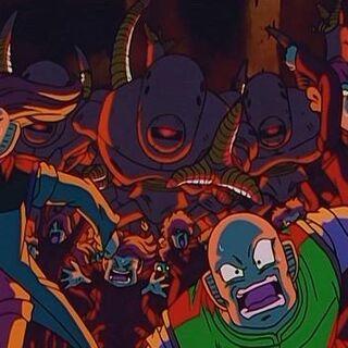 La popolazione di M2 che viene sterminata dalle macchine mutanti.