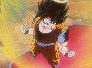Super Saiyan Power Goku