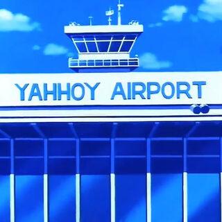 L'aeroporto di Yahhoi.