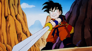 Gohan e la sua spada