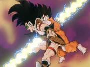 Goku e Radish muoiono
