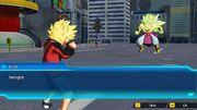 SDBH World Mission Ch3, Sub Ch4 Super Saiyan Beat (Saiyan-Earthling Hybrid) VS Broly (Legendary Super Saiyan 3)
