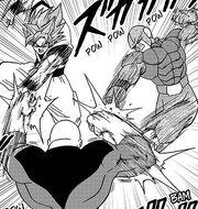 DBS35 Goku and Hit vs Jiren