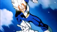 Super vegeta arroja ondas