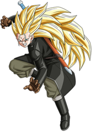 Trunks - Xeno (Long Cheveux) (Super Saiyajin 3) (Artwork)