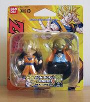 Bandai 2009 PVC Goku Babidi 2pack 5cm
