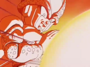 Cell Jr attacca Gohan