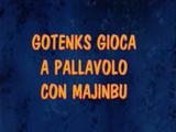 Gotenks gioca a pallavolo con Majinbu