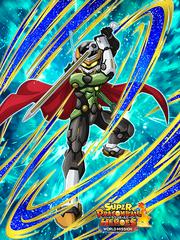 Dokkan Battle Hero Master Great Saiyaman 3 card (SDBHWM Great Saiyaman 3 Xeno Trunks SSR-UR)