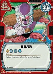 Frieza Roar