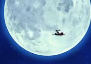 Gohan-Chan y Kokoa volando