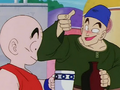 Krillin about to get drunk