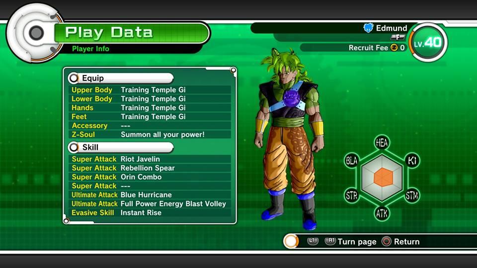 Dragonball Xenoverse  Meilleur Build