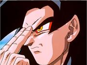 Teletrasporto (Goku Super Sayan 4)