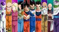 Dragon ball super 10 warriors universe 7 by lucario strike-db8lndv