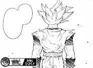 Son Goku egoísta Prisión Planetaria manga