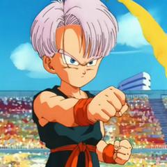 Trunks in Dragon Ball Z.