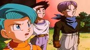 Bulma,Goten y Trunks Ji Ti
