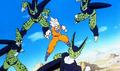 Goku vs Cell dupli