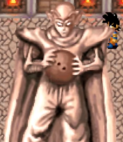 Piccolo old temple statue