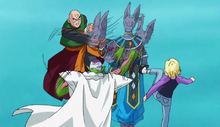 Beerus vs Piccolo ten et N°18