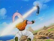 Cañón Espíritu-Vegetto super saiyajin vs Super Boo