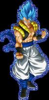 Gogeta SSGSS FighterZ render