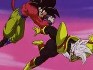Goku Super Saiyan vs Super Baby Vegeta 2 (7)