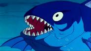 Pez Gigante en el primer episodio de Dragon Ball