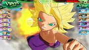 SDBH World Mission Super Attack Caulifla's Energy Fist (Energy Punch Finisher emerges from the smoke cloud)