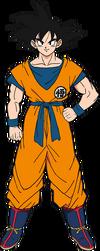 Son Goku diseño DBS Broly