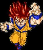 Super Guerreiro Deus Renderizado