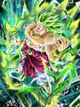 Dokkan Battle - UR - PHY - Legendary Super Saiyan 3 Broly