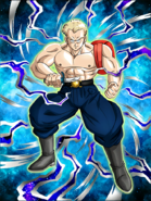 Dokkan Battle Dogged Pursuit General Blue card