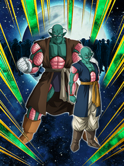 Dokkan Battle In the Name of Survival Saonel & Pirina card