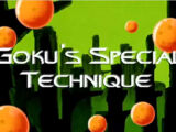 Goku's Special Technique