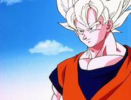 Goku Confiado