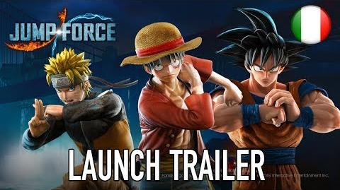 Jump Force - PS4 XB1 PC - Launch Trailer (Italiano)